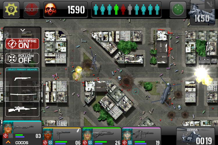War of the Zombie- screenshot
