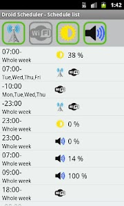 Droid Scheduler screenshot 0