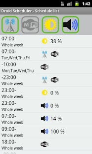 Droid Scheduler