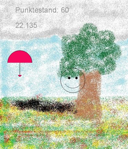 """""""Fang den Schirm"""""""