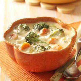 Cheese Broccoli Soup.