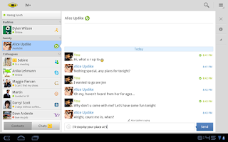 Screenshot of IM+