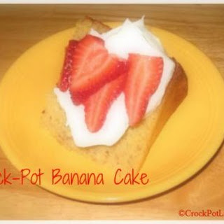 Crock-Pot Banana Cake