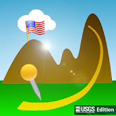USGS Map Gps Hiking Navigator