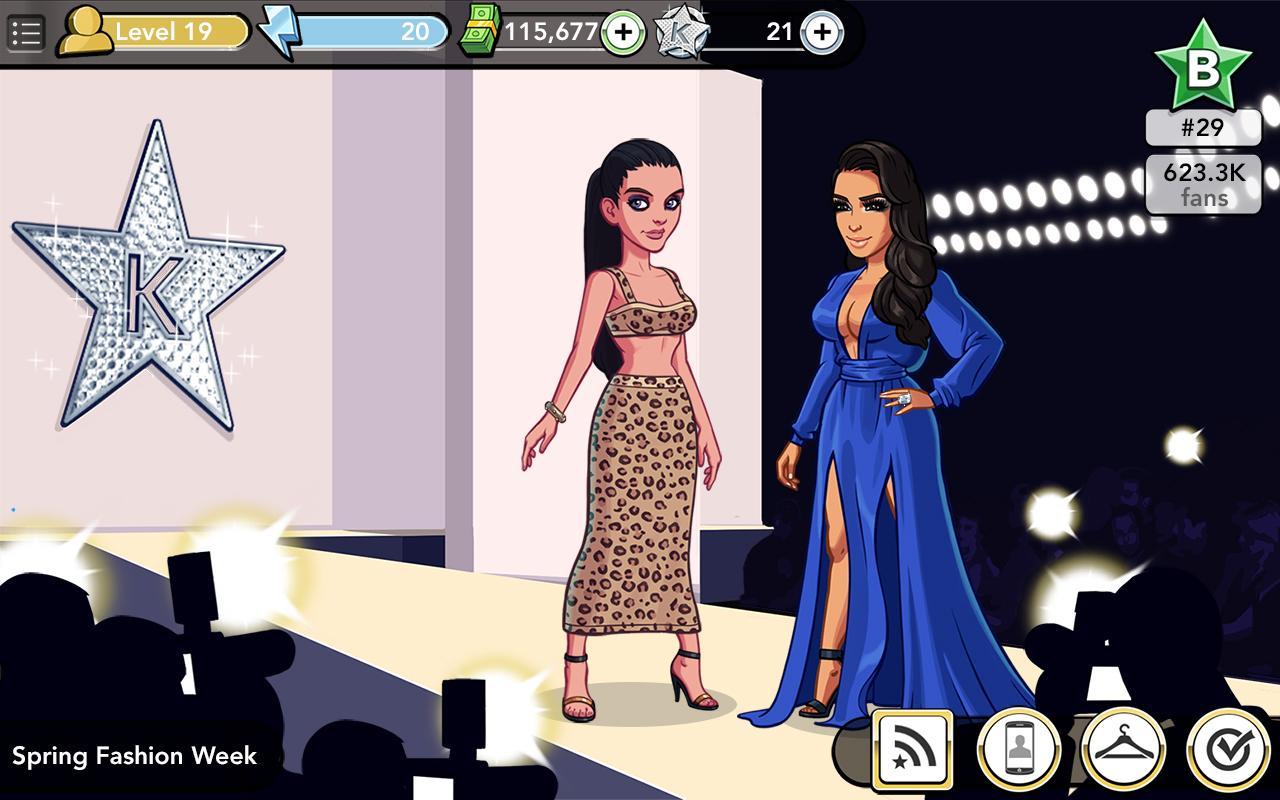 Kim kardashian hollywood applications android sur google play