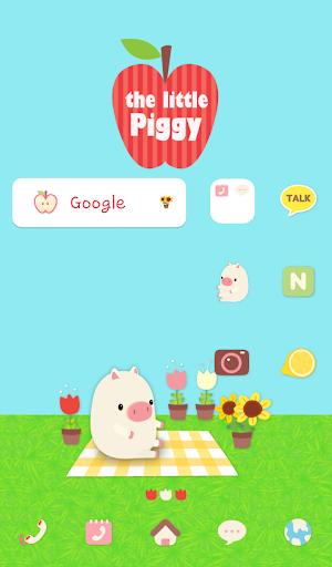little piggy dodol theme