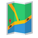 Traffic Lite Social GPS & Maps icon