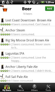 Beer - List, Ratings & Reviews- screenshot thumbnail