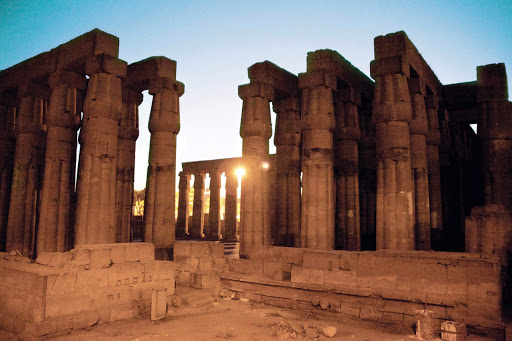 Temple_of_Luxor_Egypt - Visit Egypt aboard a Seabourn vessel and relive the magnificence of the Temple of Luxor, built by Amenhotep III near the banks of the River Nile.