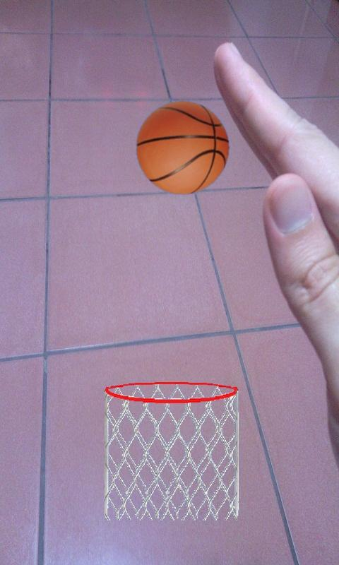Bounce Ball (AR Basketball)- screenshot