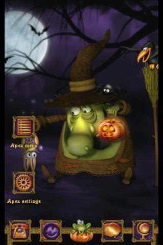 Apex GO Theme Halloween Witch