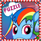 Pony Little Puzzle Game