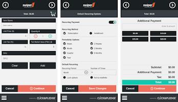 Screenshot of Swiper1 Credit Card Processing