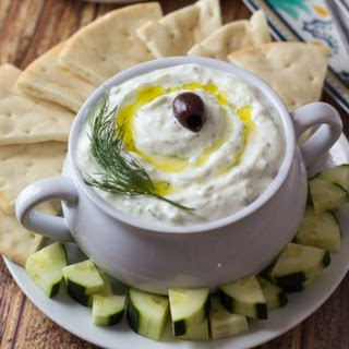 Authentic Greek Tzatziki.