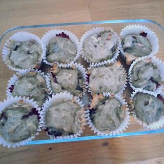 Blackberry Banana Muffins