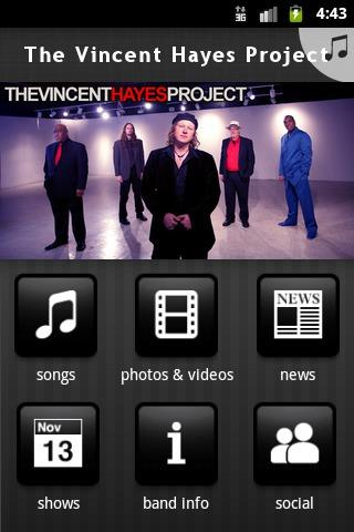The Vincent Hayes Project - screenshot