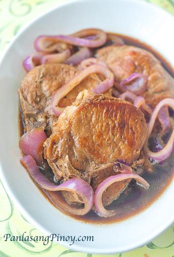 Filipino Pork Chop Steak