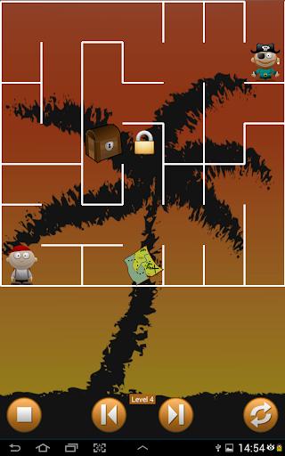 Pirate Island Maze Treasure