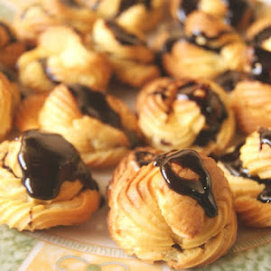 Profiteroles or Cream Puffs