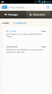 Remind101 free teacher sms app - screenshot thumbnail