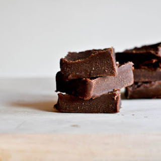 3 Minute Chocolate-Peanut Butter Fudge.