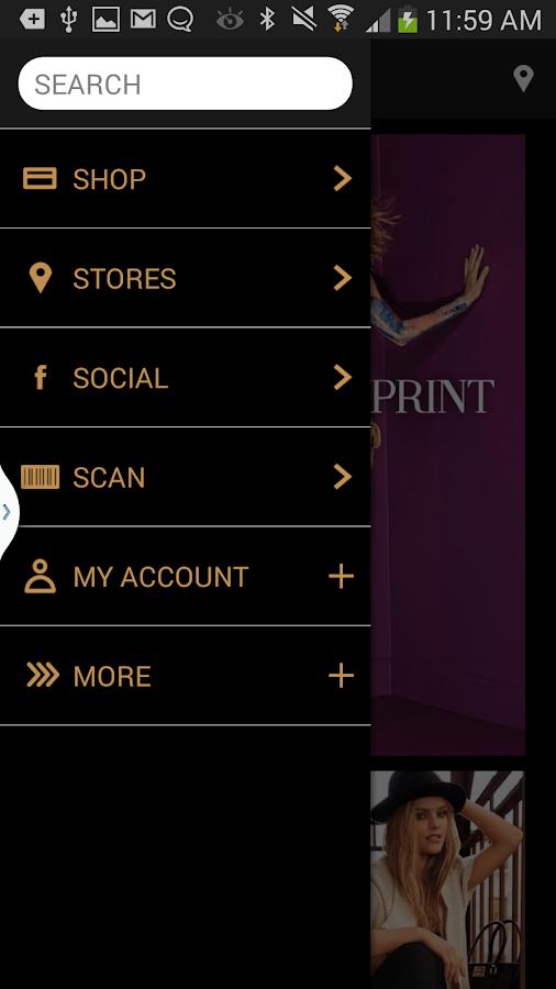 bebe Mobile - screenshot