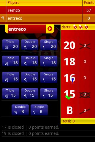 Darts ScoreCard PRO- screenshot