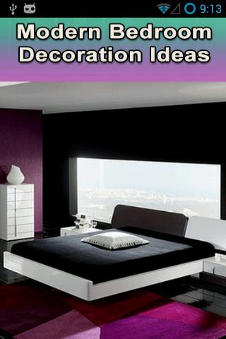 Modern Bedroom Decorations