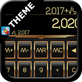 SCalc theme Gold