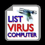 List Virus Computer