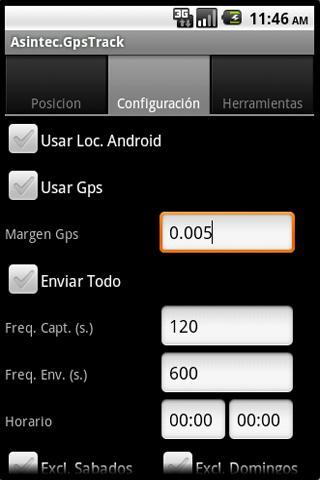 AsintecGps - Localizacion GPS- screenshot