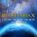 PlanetariaX Pro – Free logo