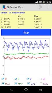 G-sensor Logger 3.1.0