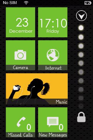Windows Phone 7 Lock Theme Pro