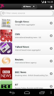 Alle Nachrichten - Zeitung Screenshot