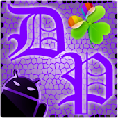 GOWidget Theme DeepPurple-Free