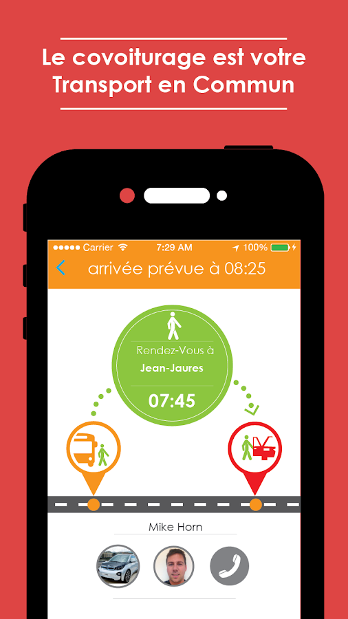 Coovia - Everyday Ridesharing - screenshot