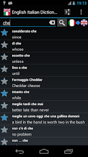 Offline English Italian Dict. - screenshot thumbnail