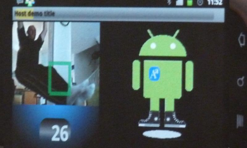 AaCamera will make you move- screenshot