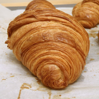 Traditional Croissants.