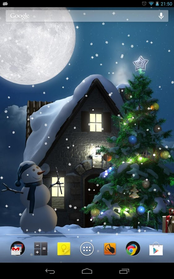 Christmas Moon - screenshot