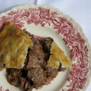 Steak and Kidney Pie.