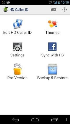 HD Caller ID Pro Key Screenshot