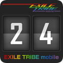 EXILE TRIBE mobile Clock icon