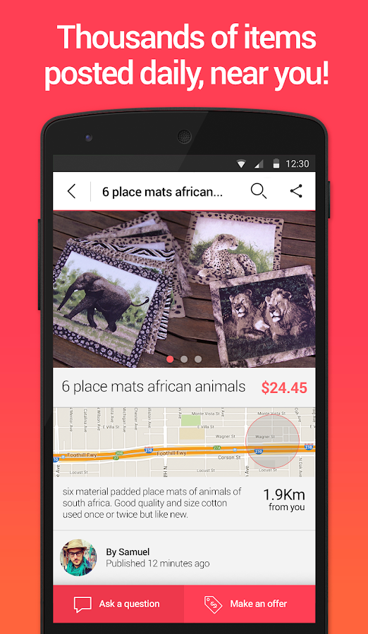 Letgo Sell Amp Buy Used Stuff Android Apps On Google Play
