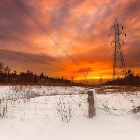 by Joe Hamel - Landscapes Sunsets & Sunrises