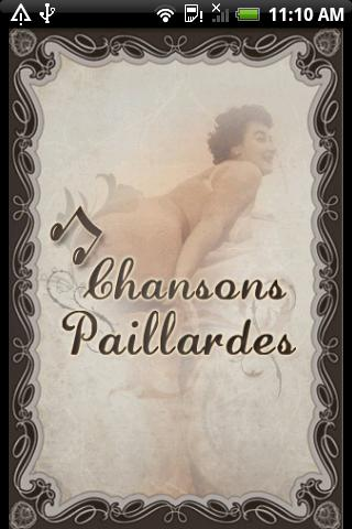 Chansons Paillardes - screenshot
