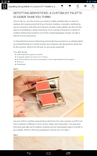 Beautylish: Makeup Beauty Tips  screenshots 9