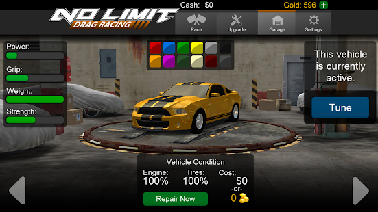 No Limit Drag Racing Android Apps On Google Play