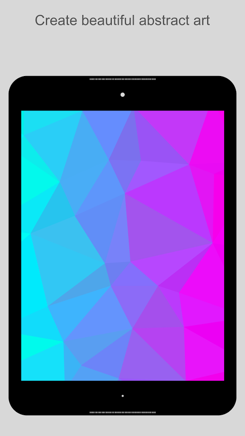 PolyGen - Create Polygon Art- screenshot